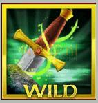 Het reguliere wild symbool van Excalibur