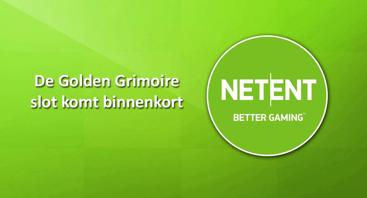 Golden Grimoire video slot van NetEnt