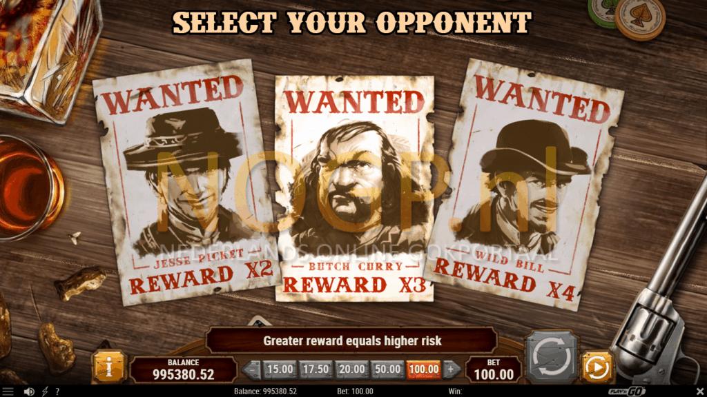Gunslinger Reloaded gokkast - Bounty hunt feature
