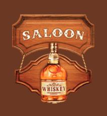 Gunslinger Reloaded Whiskey fles