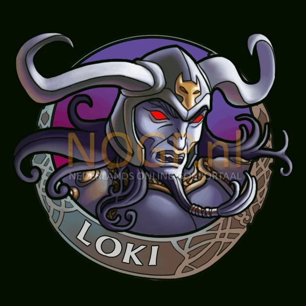 Hall of Gods video slot gokkast - Loki Symbool
