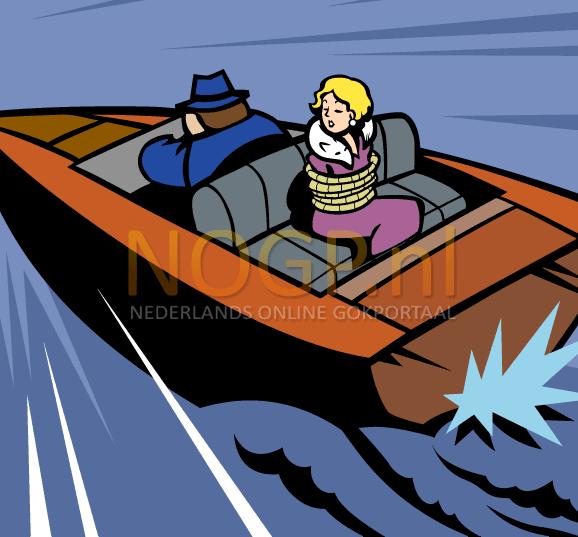 Jack Hammer II video slot gokkast - Speedboot symbool