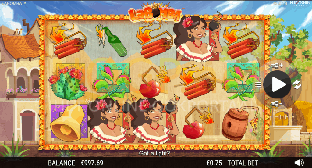 La Bomba slot screenshot