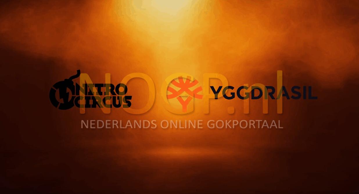 Nitro Circus video slot van Yggdrasil