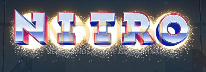 NITRO letters van de Nitro Circus slot