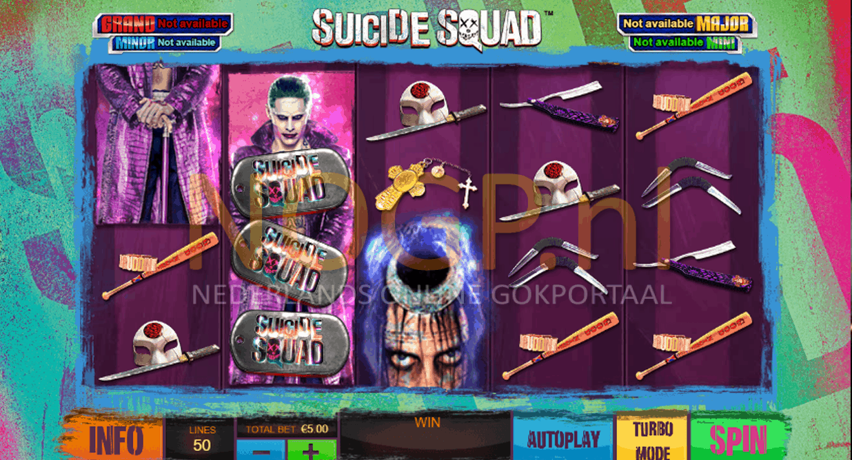 Suicide Squad Playtech