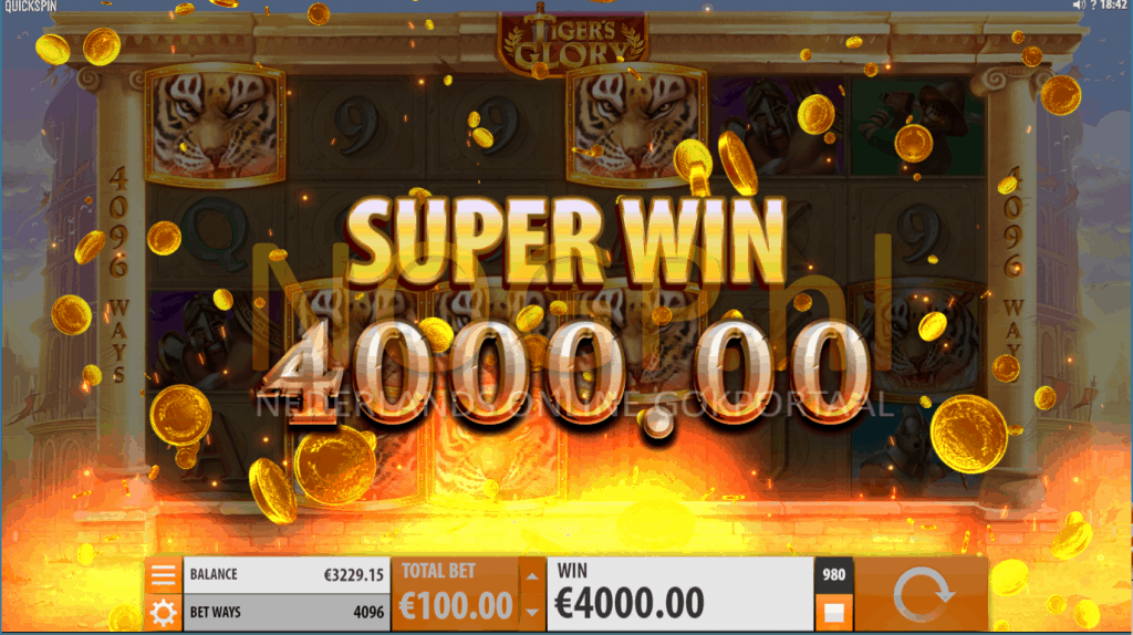 Super Win Tigers Glory slot