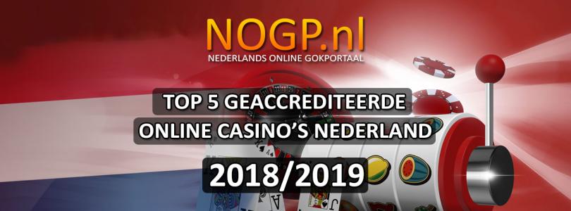 Top 5 beste online casino's Nederland 2018/2019