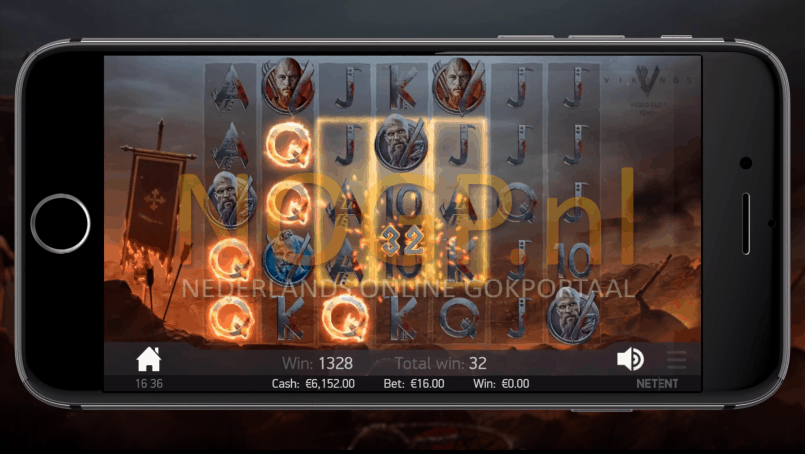Vikings Raid Spins op Vikings Touch® slot