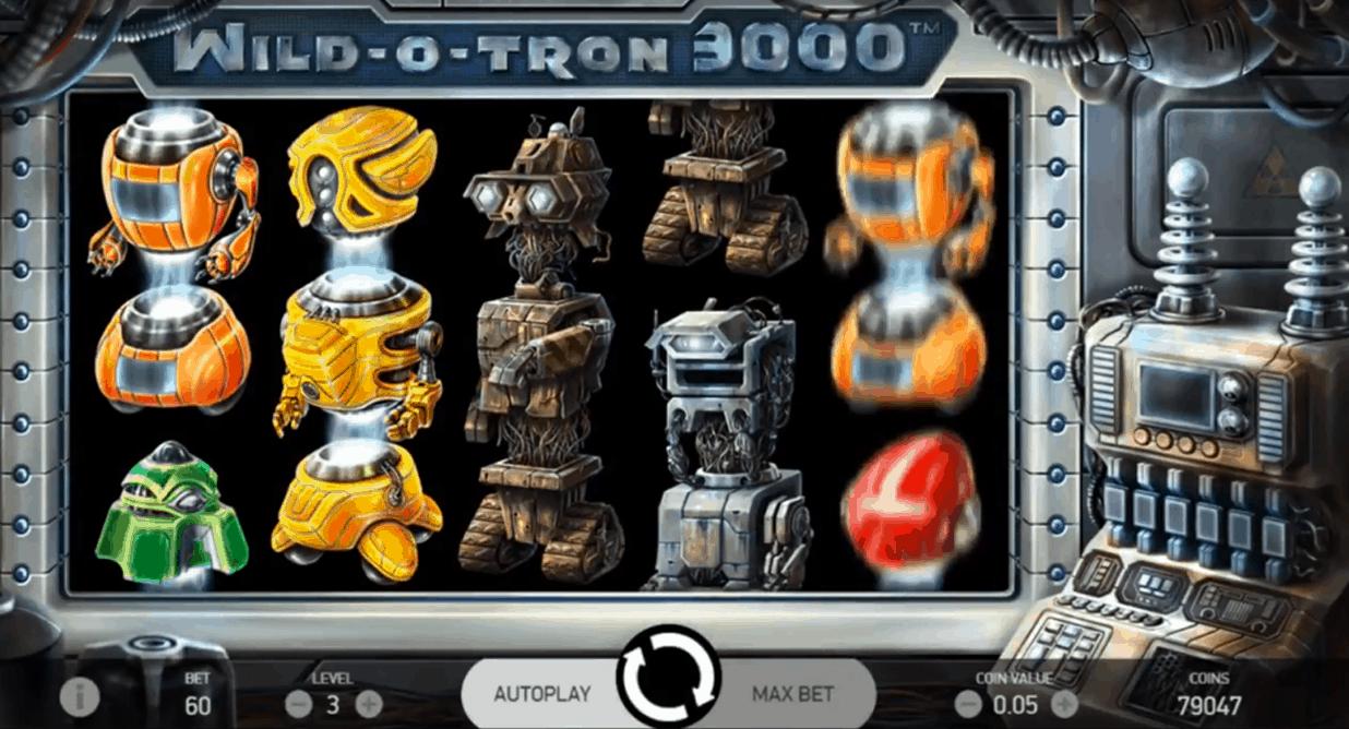 Wild O Tron 3000 screenshot