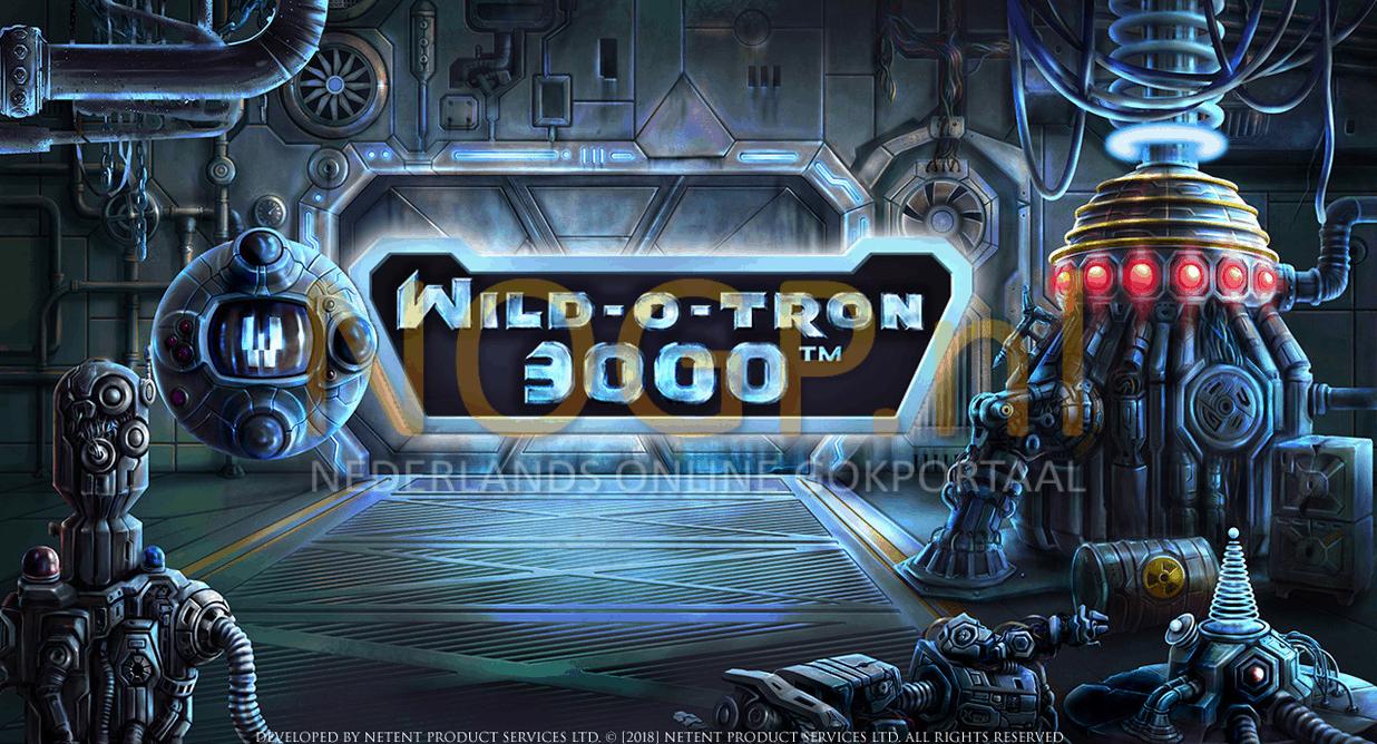 Wild O Tron 3000 video slot van NetEnt