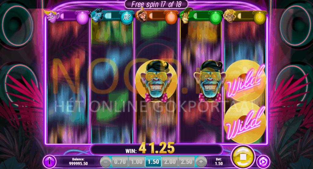 Banana Rock slot Rock 'n Rolla respin feature