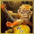 Banana Rock video slot gokkast - Bandlid 1 symbool