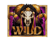 Baron Samedi video slot gokkast - Wild symbool