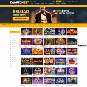 CampeonBet Casino Slots