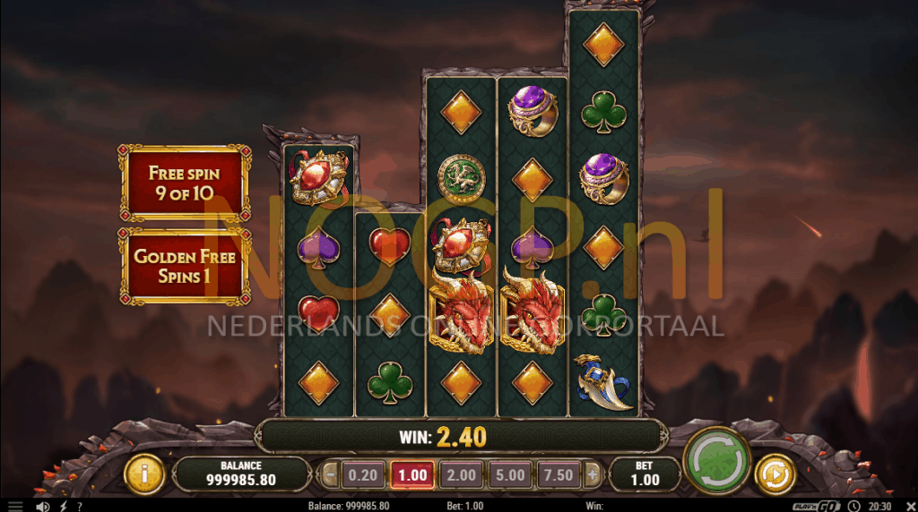 Dragon Maiden slot gratis spins feature