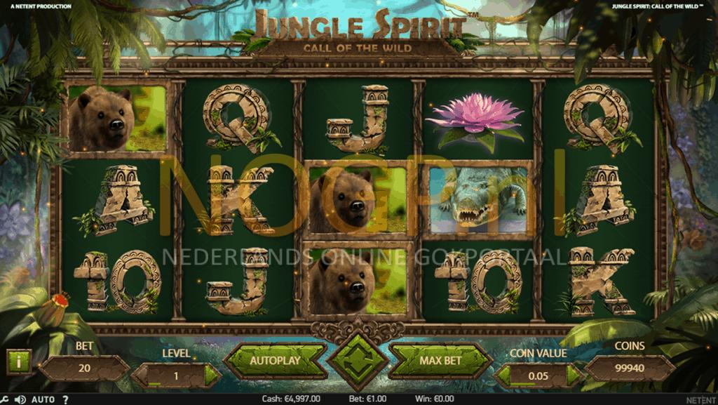 Jungle Spirit gokkast screenshot