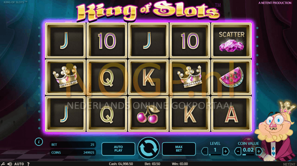 King of Slots gokkast screenshot