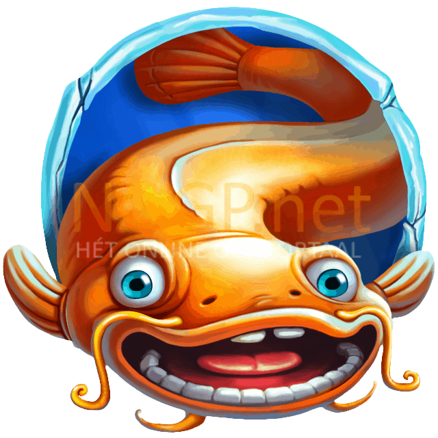 Lucky Angler video slot gokkast - Oranje vis symbool