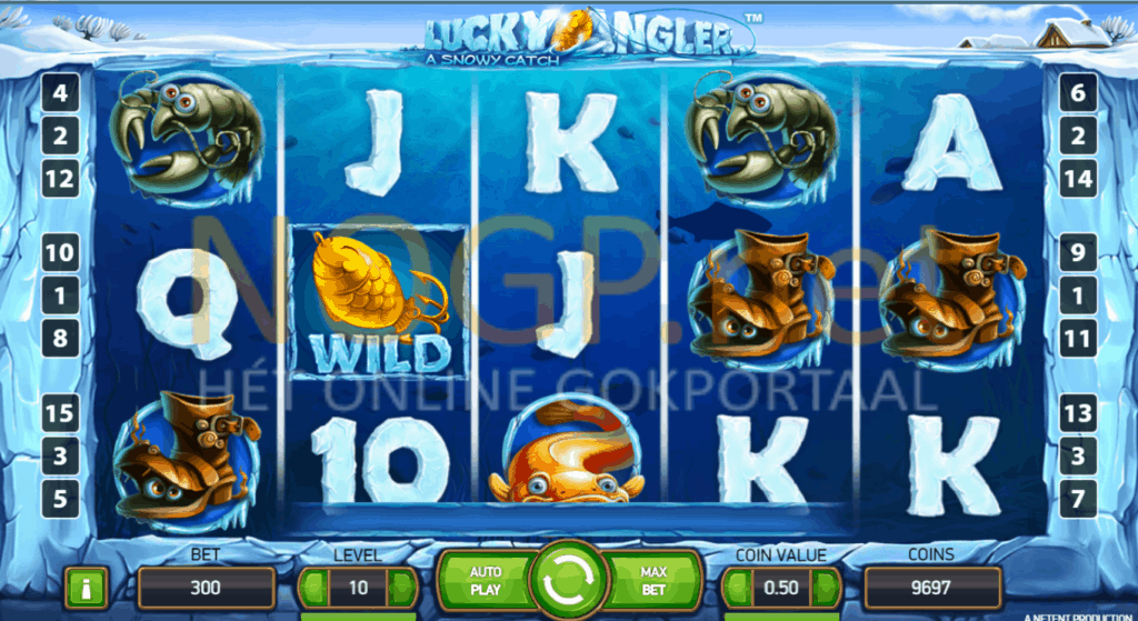 Lucky Angler video slot screenshot
