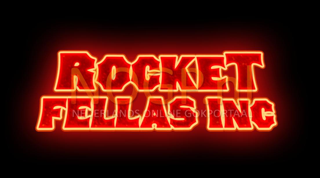 Rocket Fellas inc video slot van Thunderkick