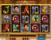 Book of Dead video slot screenshot