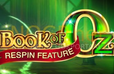 Book of Oz video slot logo
