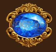 Empire Fortune video slot gokkast - Blauwe juweel symbool