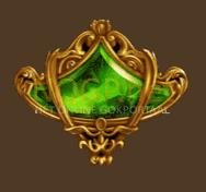 Empire Fortune video slot gokkast - Groene juweel symbool