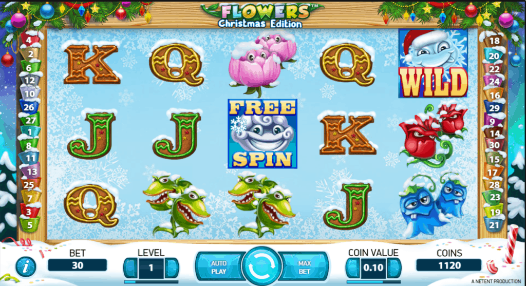 Flowers Christmas Edition screenshot