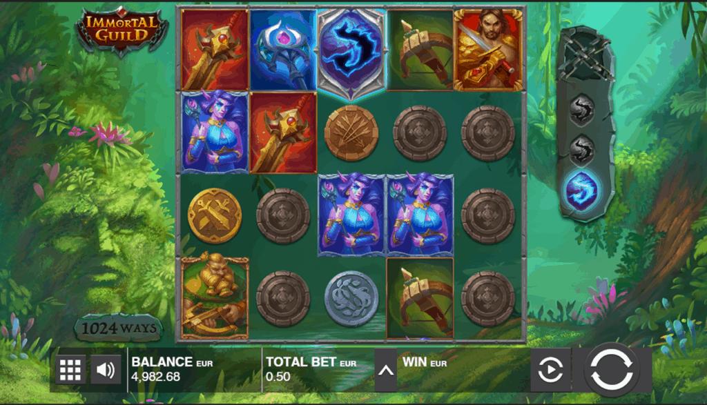 Immortal Guild gokkast screenshot