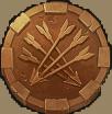 Immortal Guild slot - Bronze munt