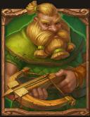 Immortal Guild slot - Dwerg Hunter symbool