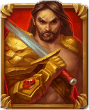 Immortal Guild slot - Human Warrior symbool