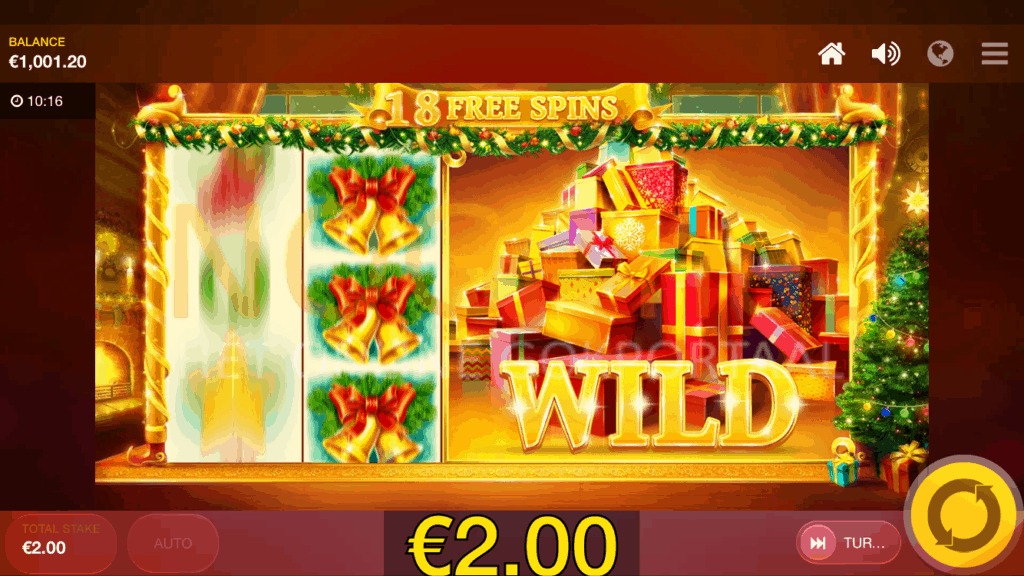 Gratis spins van de Jingle Bells video slot