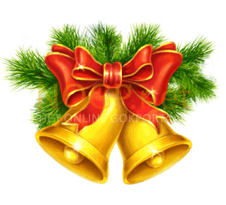 Jingle Bells video slot gokkast - Kerst bellen symbool