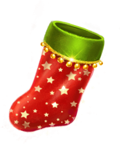Jingle Bells video slot gokkast - Kerstsok symbool