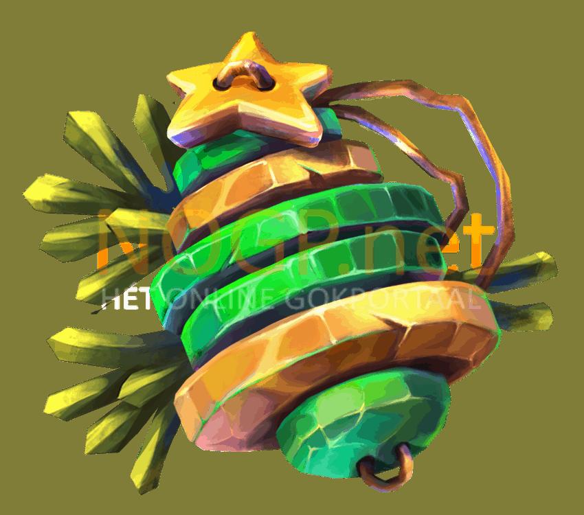 Jingle Spin video slot gokkast - Kerstboom symbool