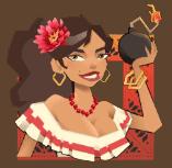 La Bomba video slot gokkast - Guadalupe symbool