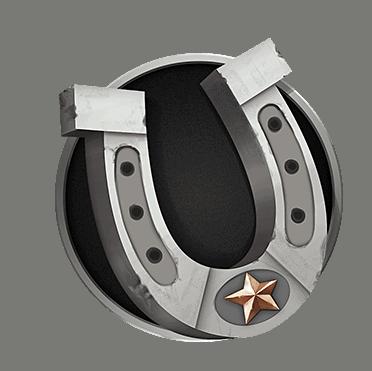 Motorhead video slot gokkast - Hoefijzer symbool