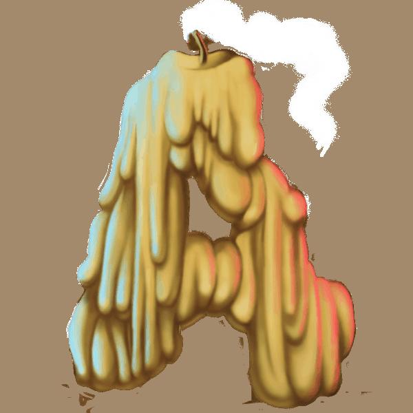 Mythic Maiden slot - Aas symbool