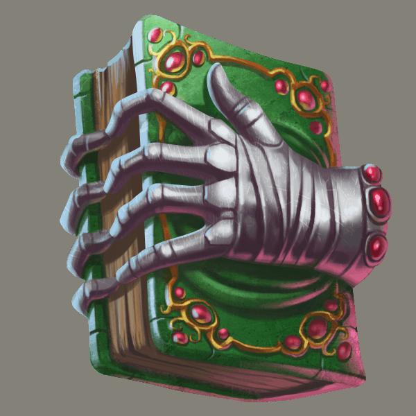 Mythic Maiden slot - Boek symbool