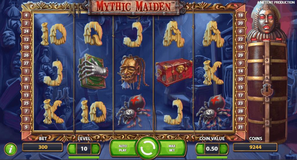 Mythic Maiden video slot screenshot