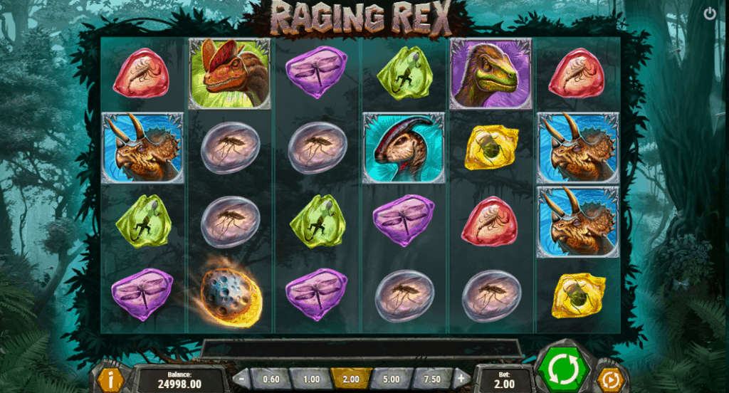 Raging Rex gokkast screenshot