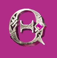 Valkyrie video slot gokkast - Koningin symbool