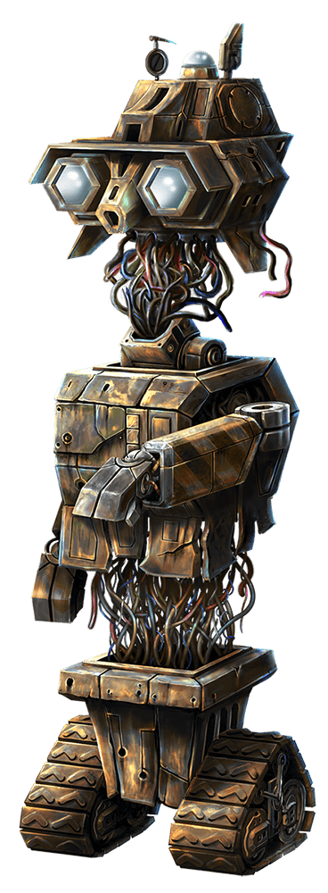 Wild-O-Tron 3000 video slot gokkast - Lelijke robot symbool