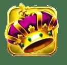 Carnival Queen video slot gokkast - Kroon symbool