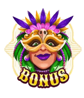 Carnival Queen video slot - Scatter symbool