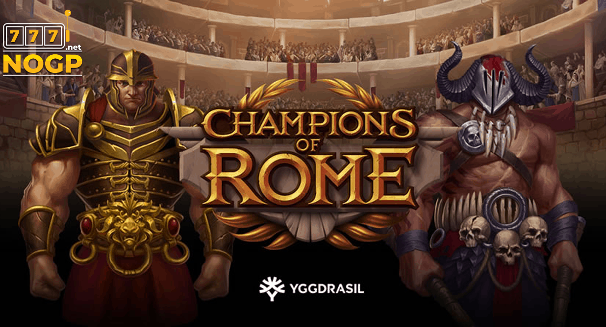 Champions of Rome video slot van Yggdrasil
