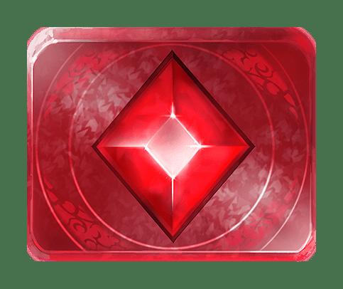 Gemtastic video slot gokkast - Rode edelsteen symbool